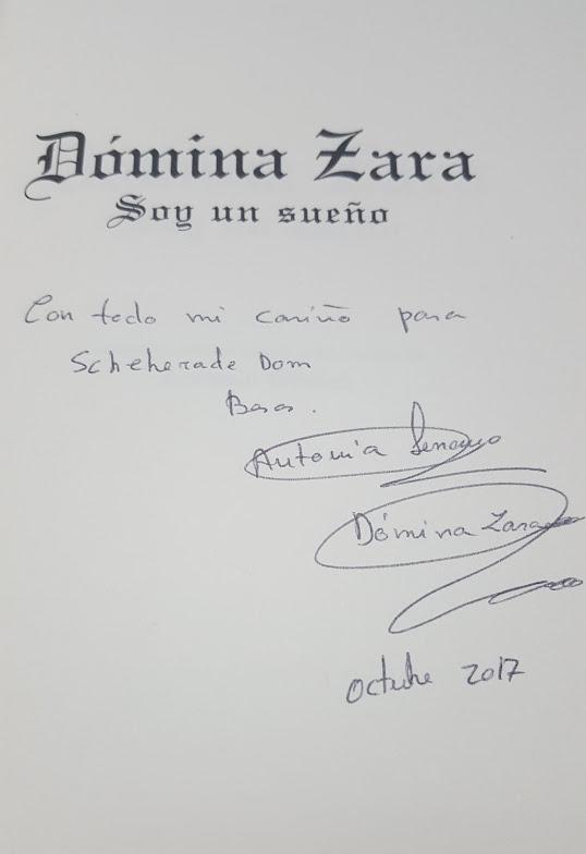Dómina Zara Soy un sueño